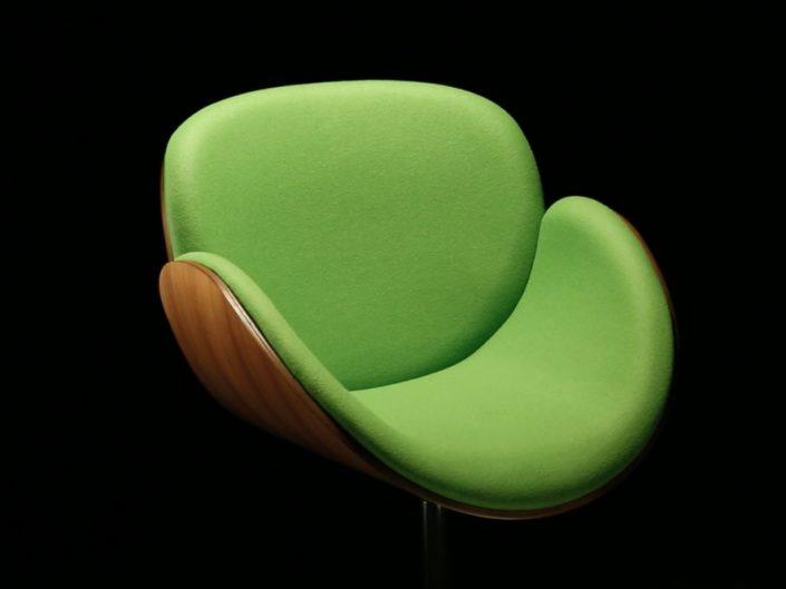 Wooden Chair - Green